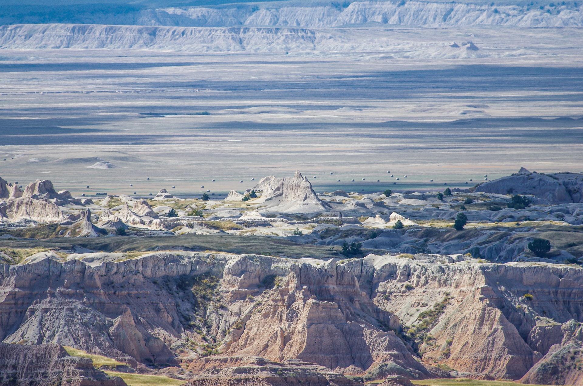 Ausläufer der Badlands - Süddakota