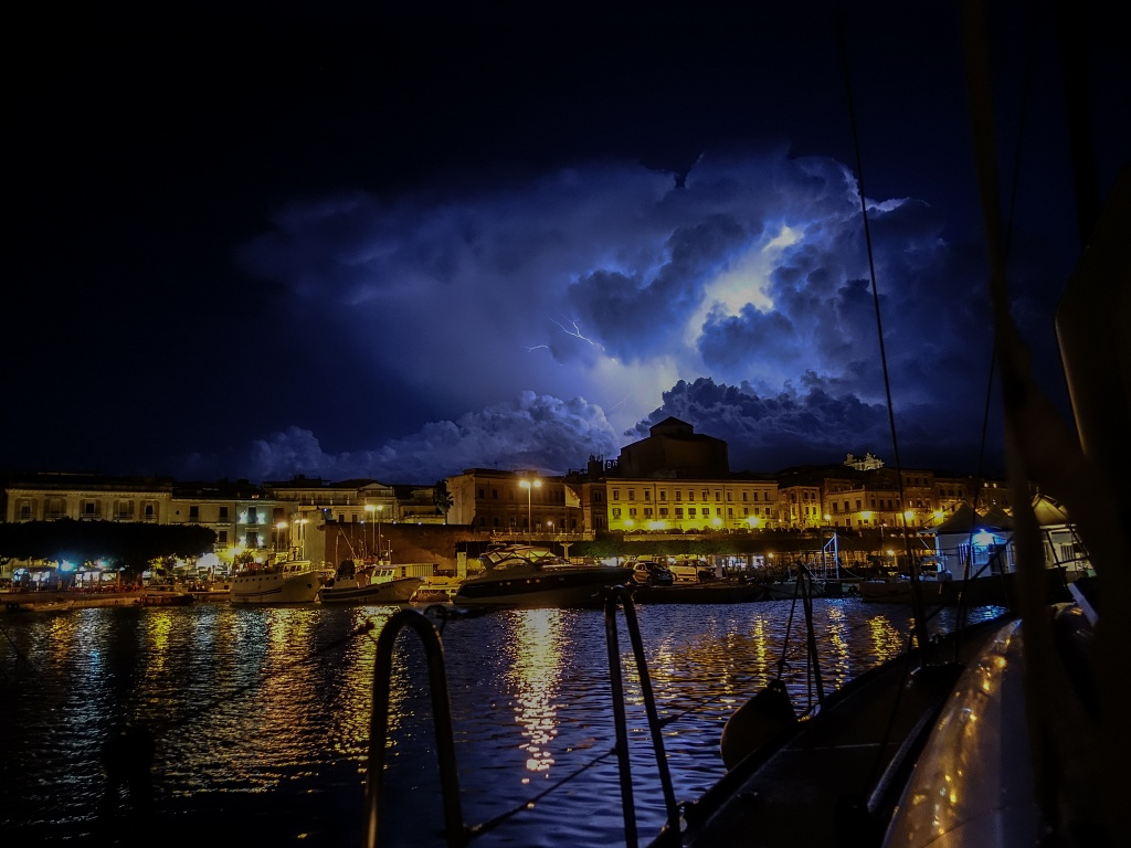 Gewitternacht auf Sizilien
