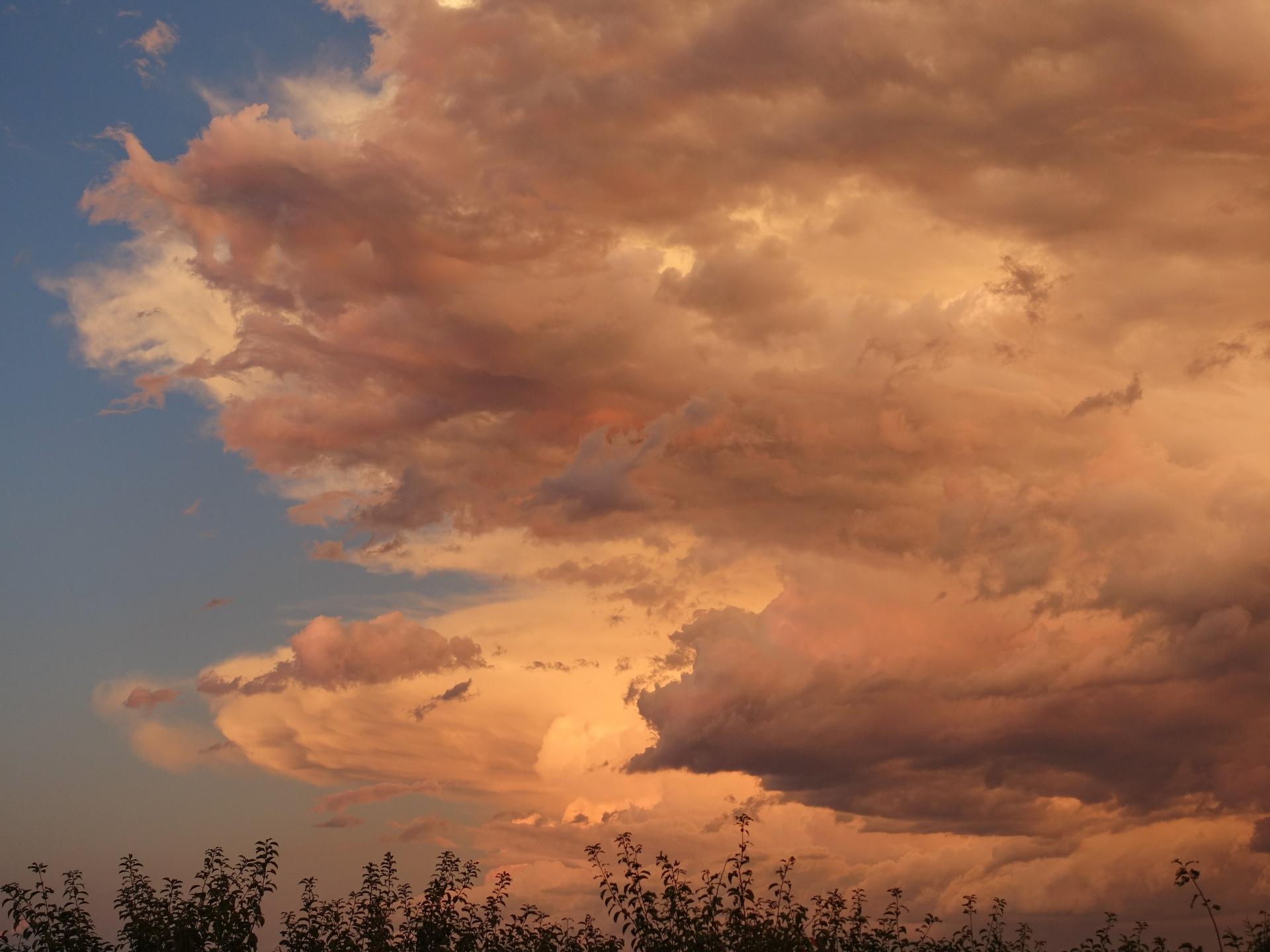 Gewitterstimmung am Abend - Süddakota
