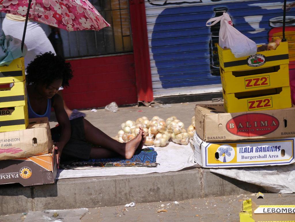 Soweto Gemüseverkauf