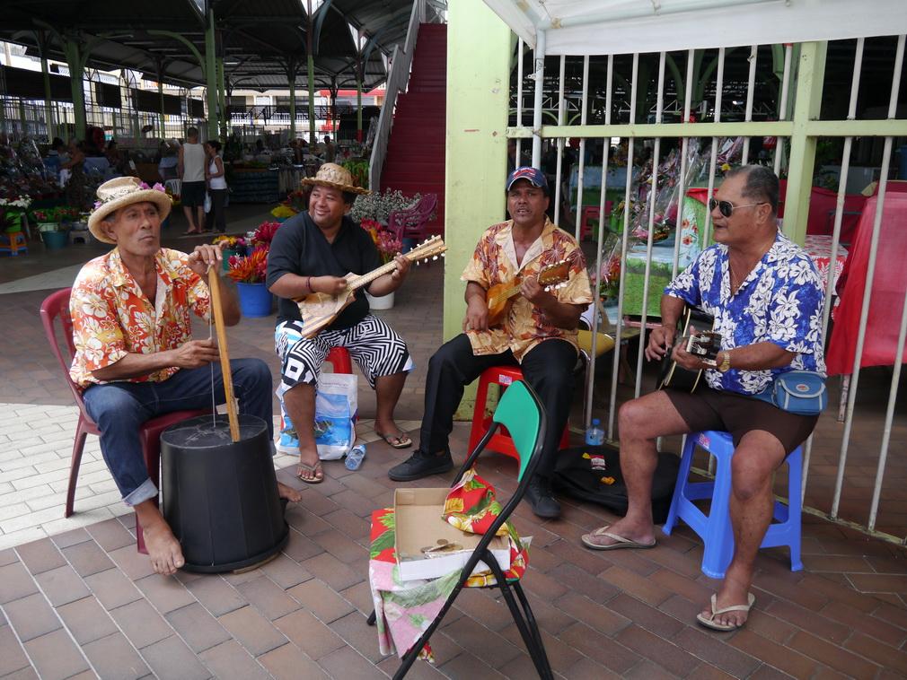 Tahiti Strassenmusik