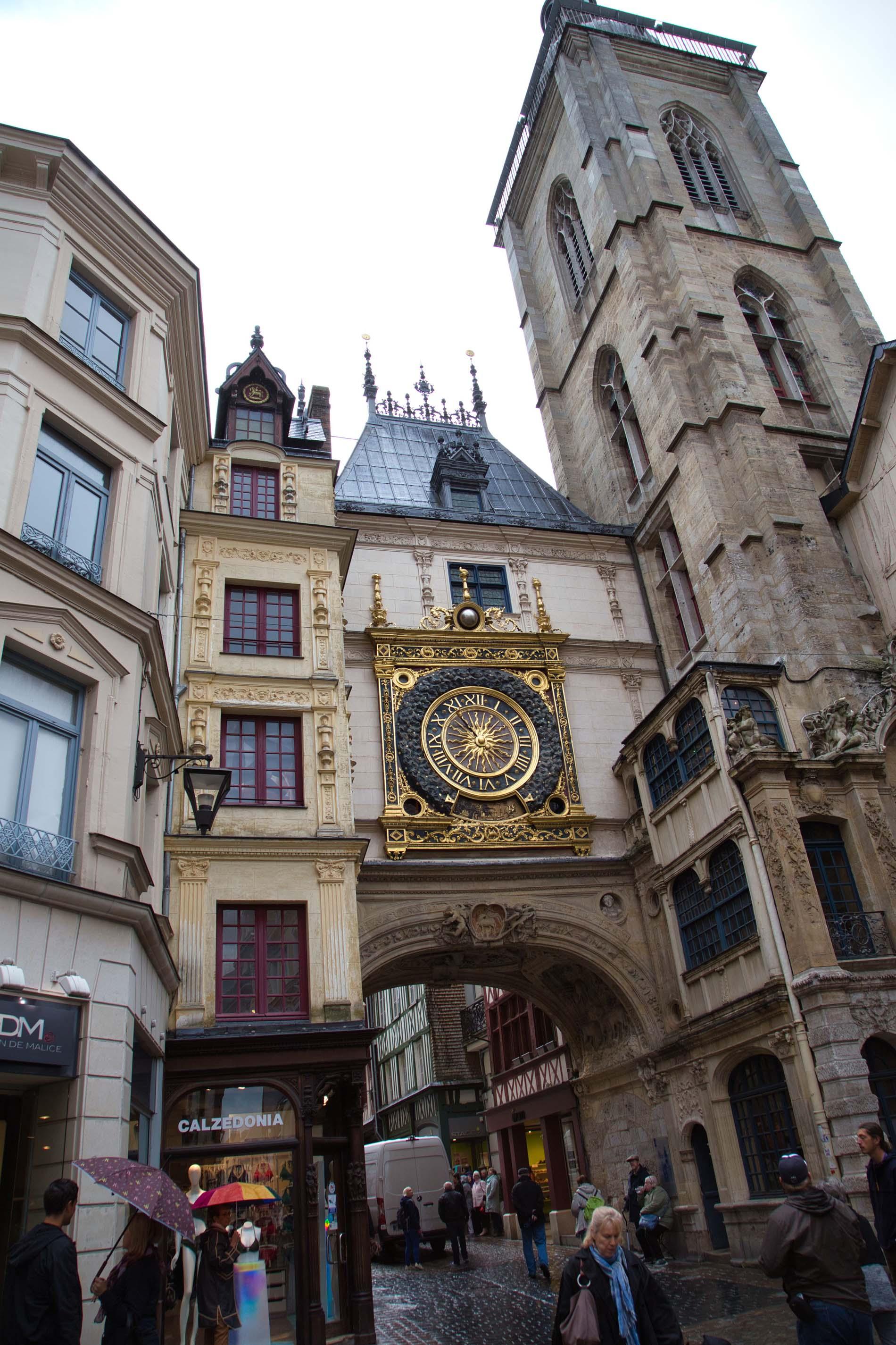 Uhrenturm Rouen