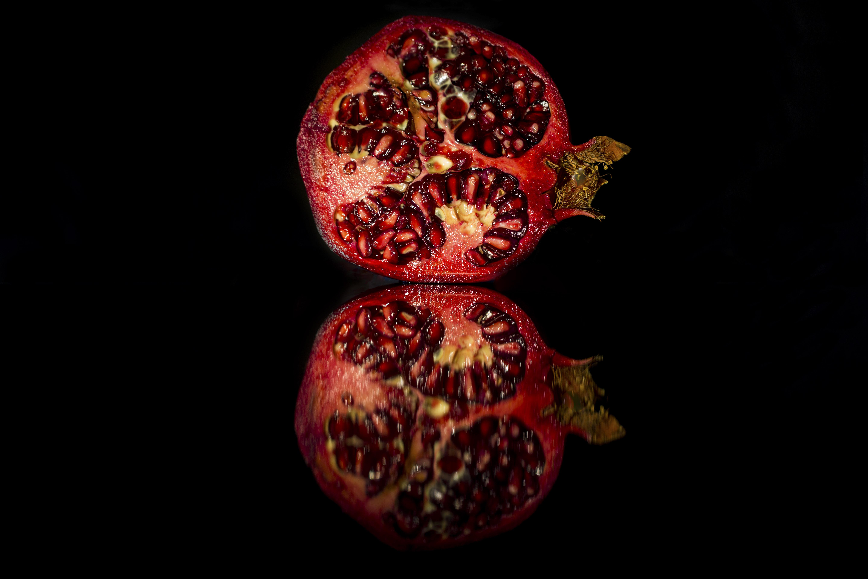 Granatapfel Spiegelung