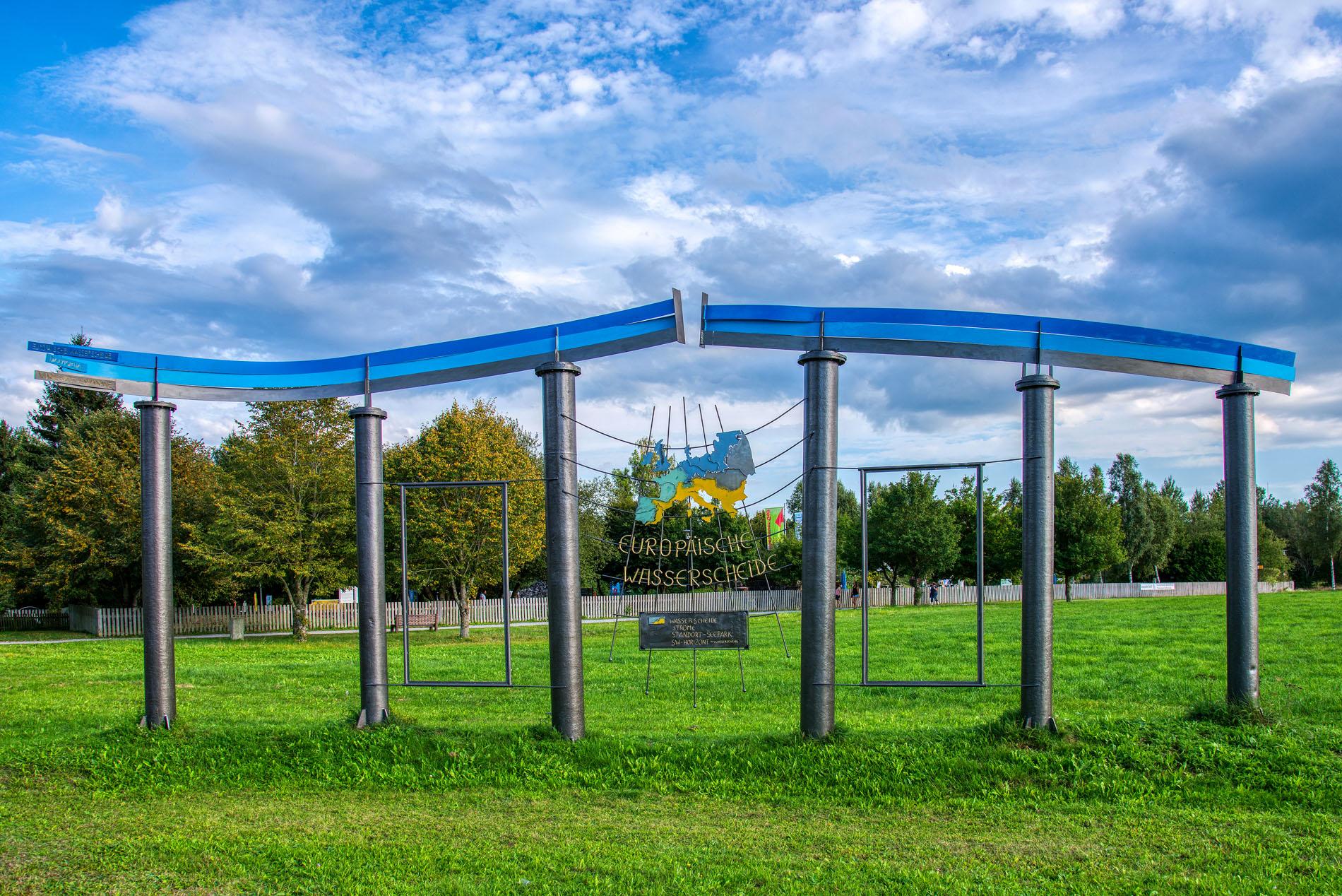 Eüropäische Wasserscheide - Seepark Pfullendorf