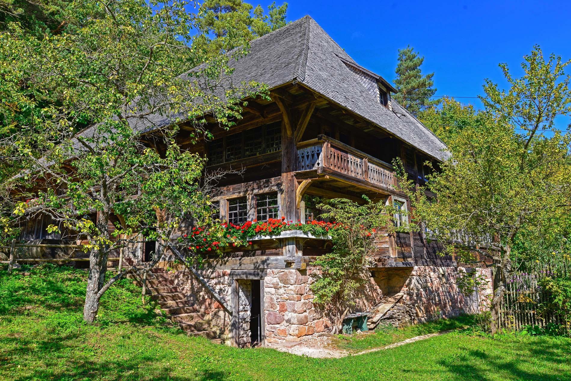 Haldenhof - Schonach, im Freilichtmuseum Neuhausen ob Eck