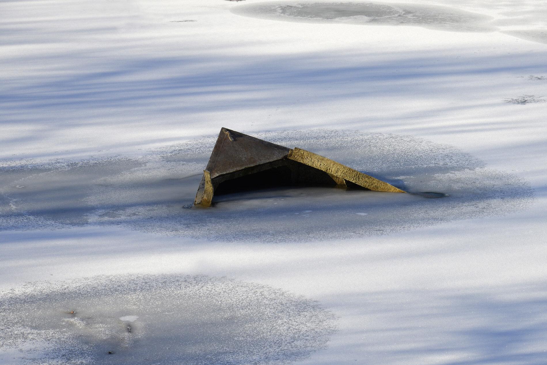 Versunken im Eis